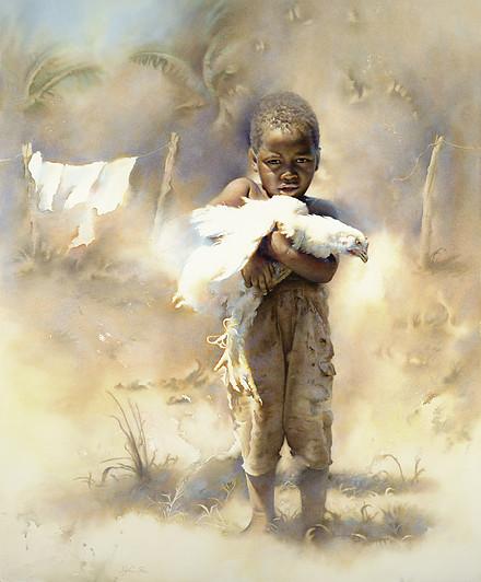 Token Of Honor By Dylan Pierce, Watercolor