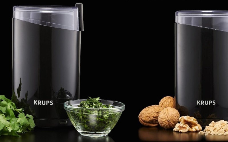 KRUPS Electric Coffee Grinder, Spice Grinder, Stainless Steel Blades