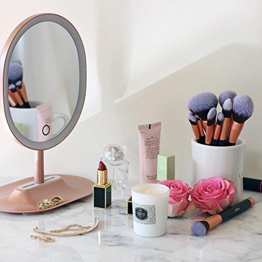 Anjou Makeup Brush Set, 16pcs Premium Cosmetic Brushes