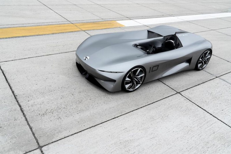 Infiniti Prototype 10 Electric Speedster