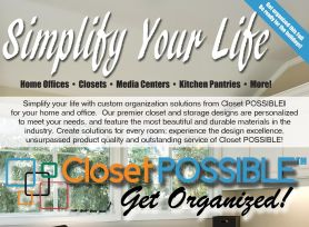 Closet Possible ad sample