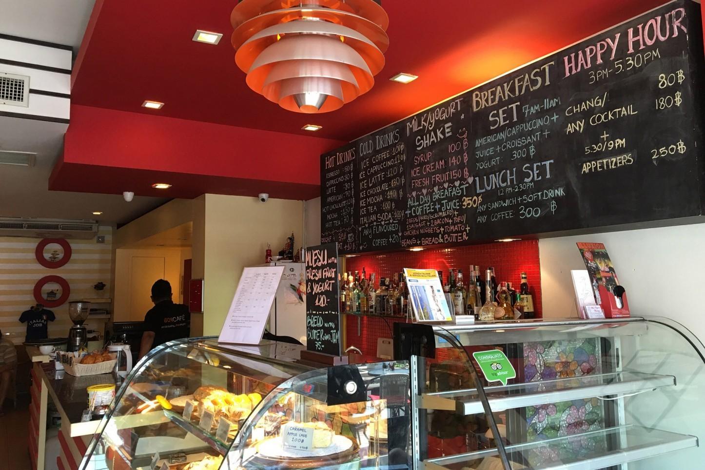 Italian Job Coffee Shop Kata Beach Kata Rocks Resort Phuket