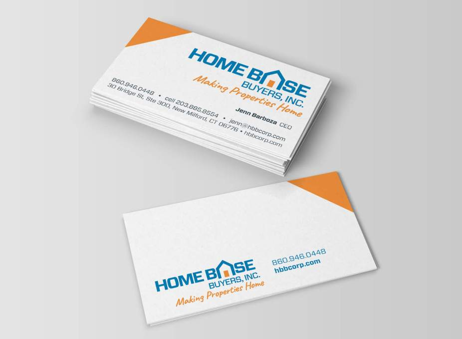 home base buyers business card - Home Graphic Design