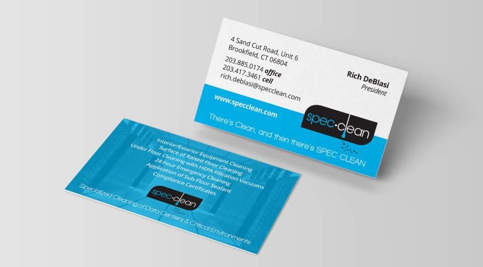 Spec Clean Business Card | Katart Graphics Graphic Design, Web ...