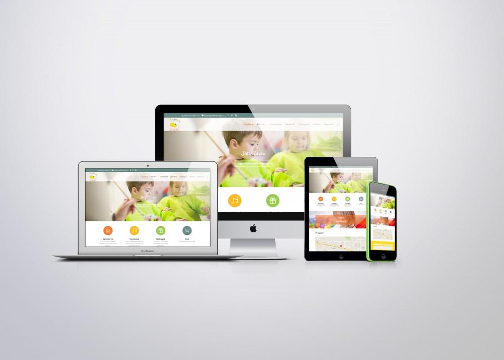 Reszponzív honlap – Fénybogár Játszóház