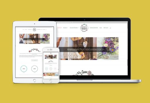 Responsive webdesign, dekorspecialista.hu