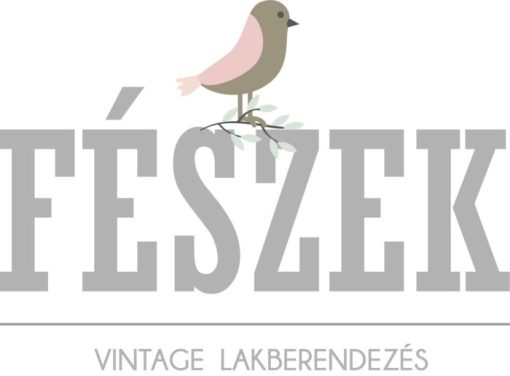 Fészek lakberendezés madaras logó