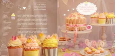 Négy évszak vidéken fairy cupcakes