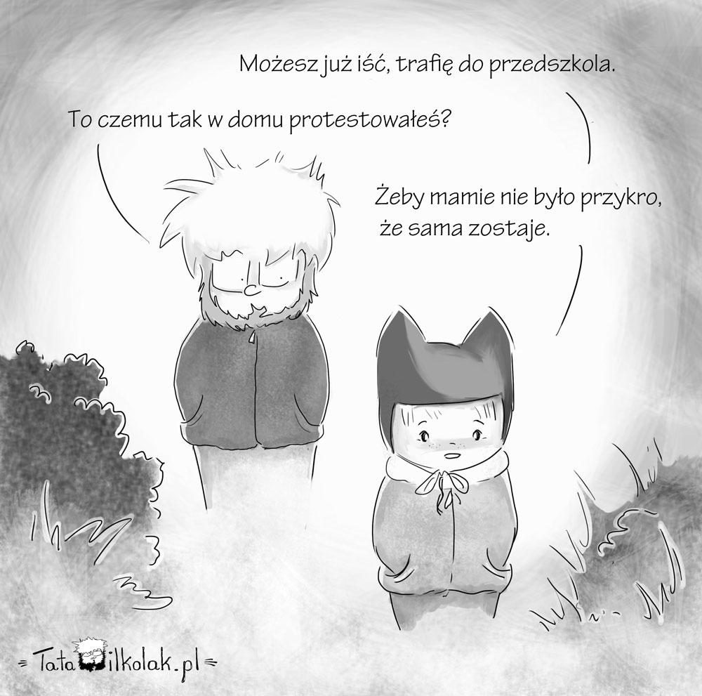 Droga do przedszkola