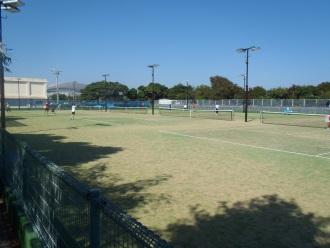 中央公園テニスコート改修工事