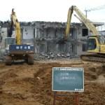旧長崎(部)五島地区事務所撤去工事