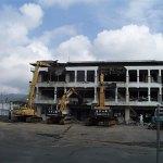 旧五島中央病院解体工事(B工区)