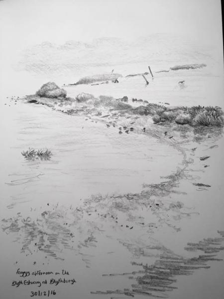 Foggy Blythburgh 365