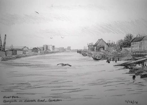 Quay side Gorleston 342