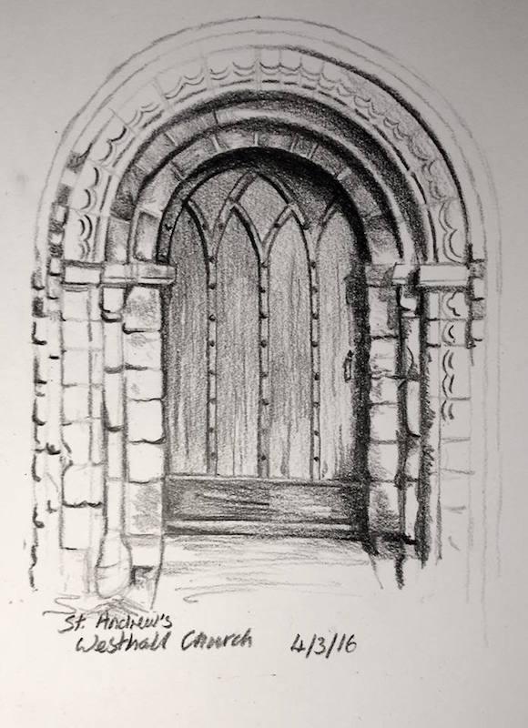 Westhall church door 64