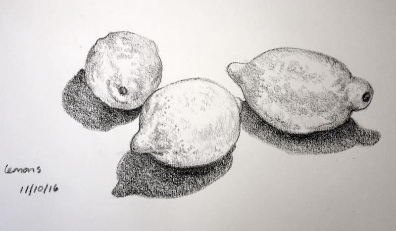 lemons sketch 285