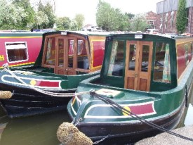 Boats on the wharf at Warwick