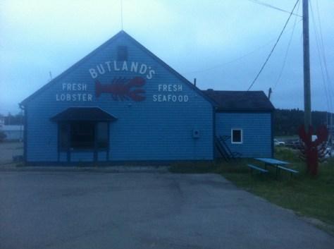 Lobster house in Alma