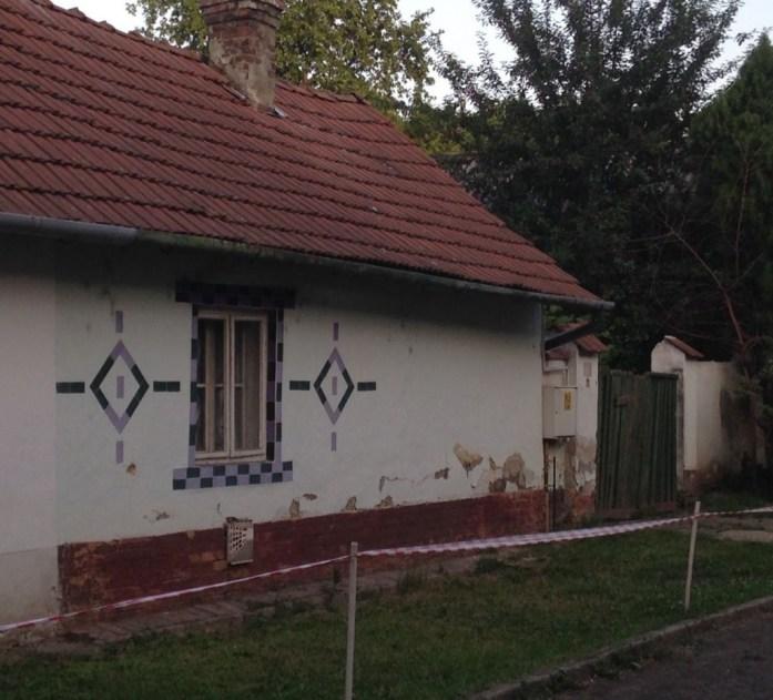 Bekescsaba detail of dirty house