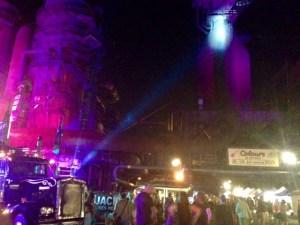 colours of ostrava music festival night