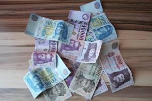 Hungarian Forint banknotes HUF