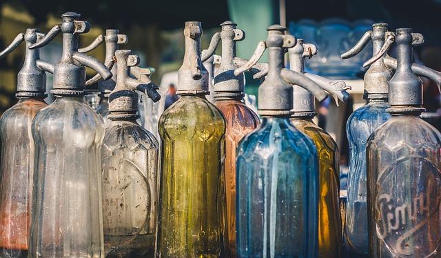 vintage soda bottle