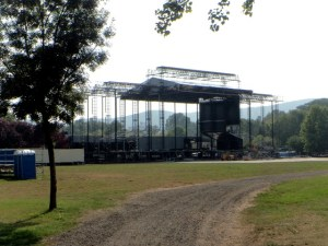 building sziget festival main stage