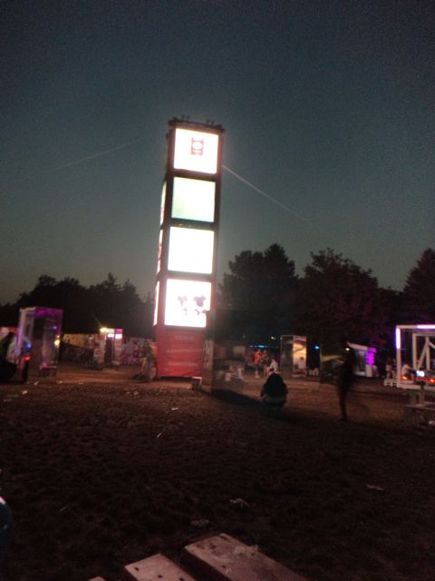 sunrise at sziget festival