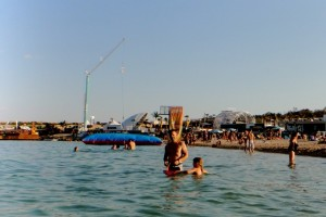 bungee jumping at zrce beach