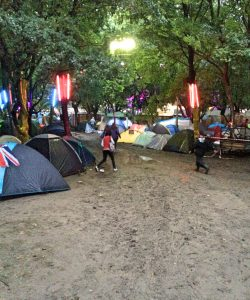 sziget festival blog post diary rainy day mud tent basic camping music festival