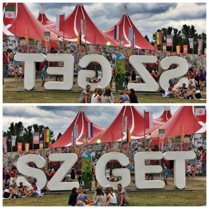sziget festival pro tip sign picture a38