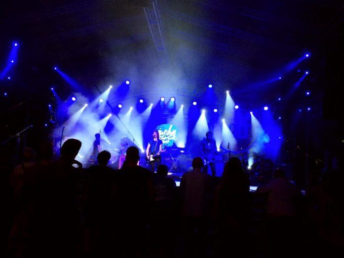 sziget festival concert blue
