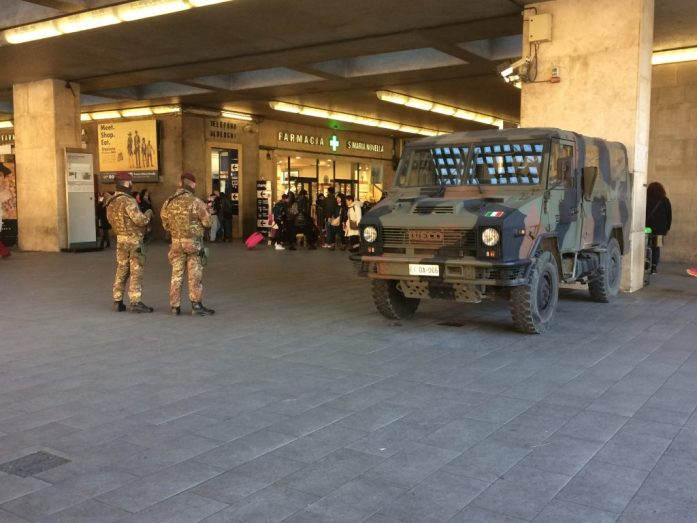 Florence SMN train station guards welcome