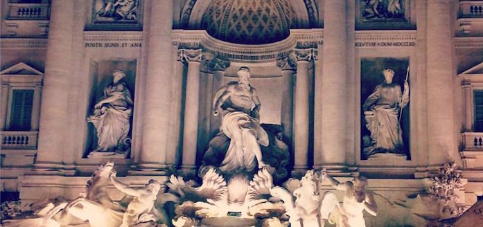 Fontana di Trevi Rome trevi fountain