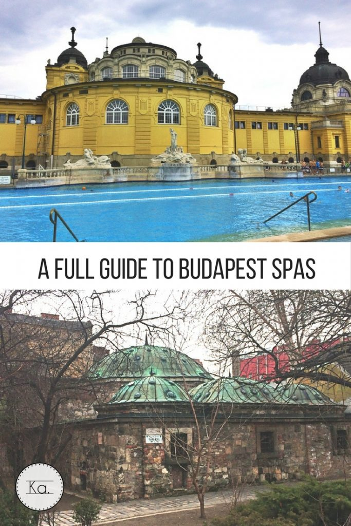 Pin Full Guide Budapest baths