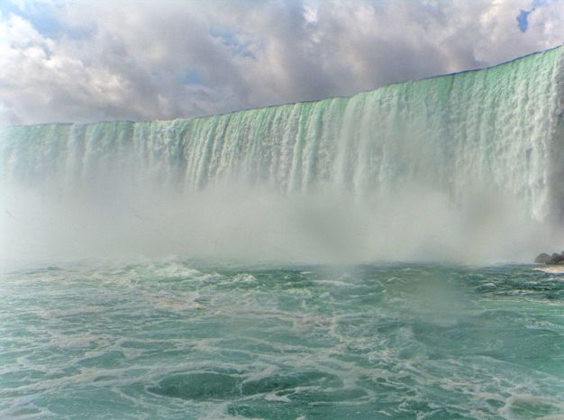 Niagara Falls boat excursion close look picture nature is powerful