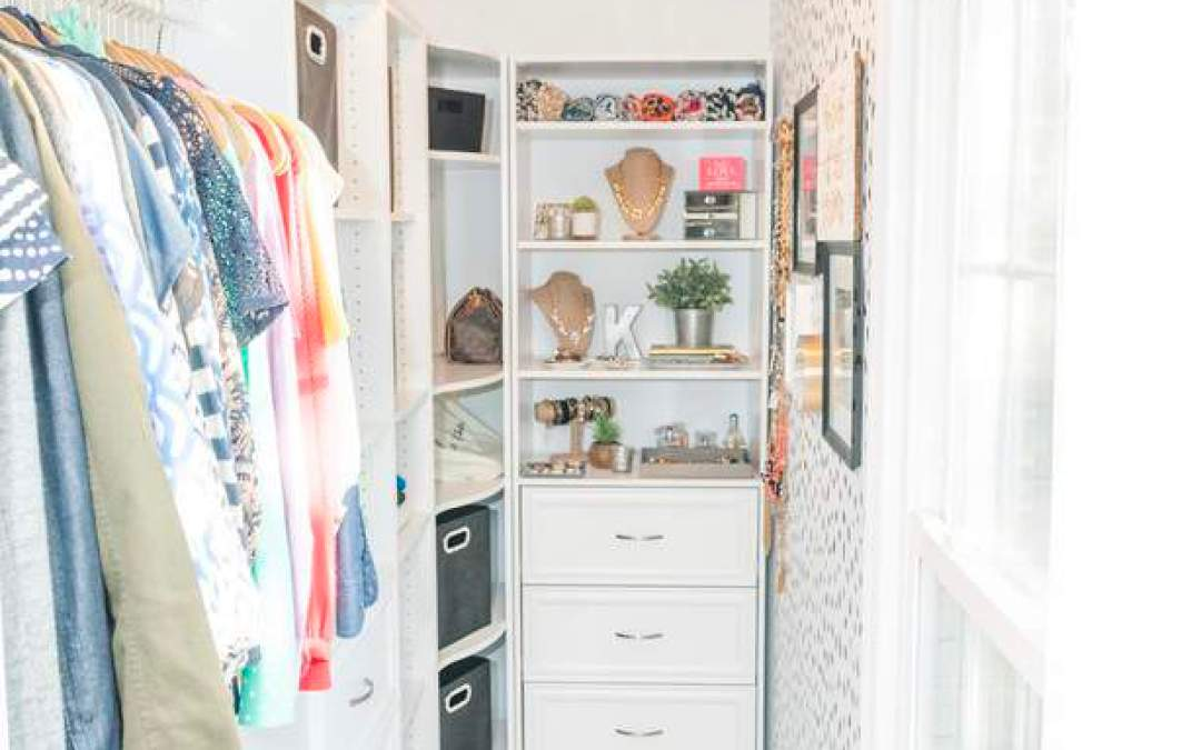 Before and After: Master Bedroom Closet Makeover Reveal