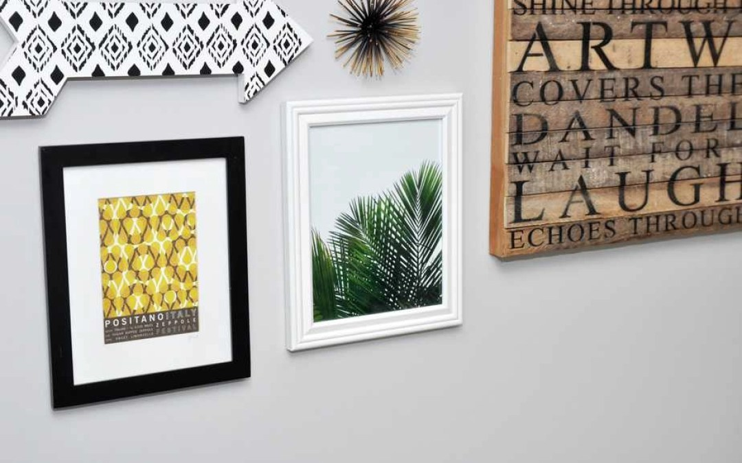 3 Simple Tips for Creating a Gallery Wall That You LOVE