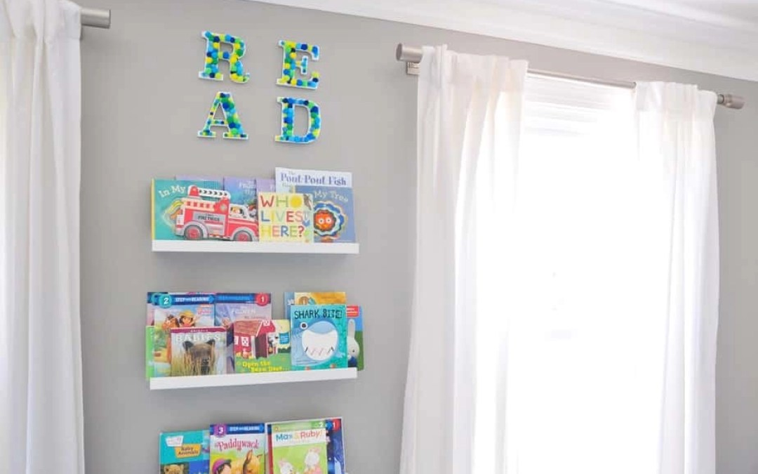 Quick + Easy DIY: Colorful Pom-Pom Wall Letters
