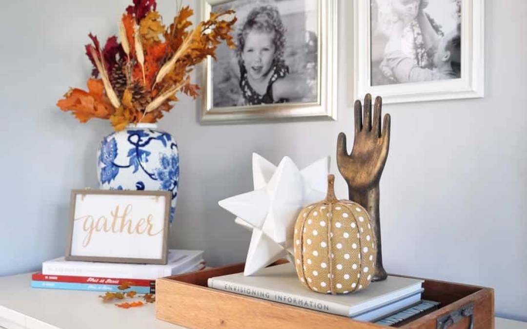 Fall Home Tour: The Busy Mom's Guide to Seasonal Decorating