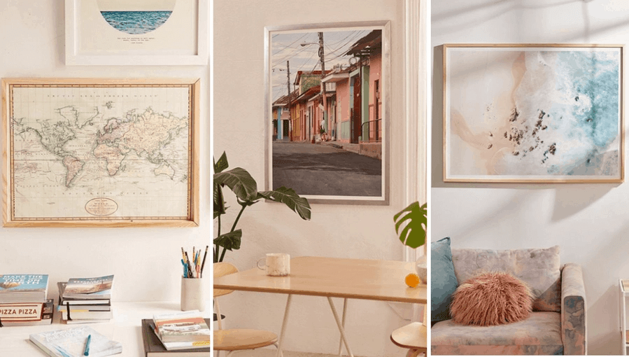 urban outfitters affordable wall art online