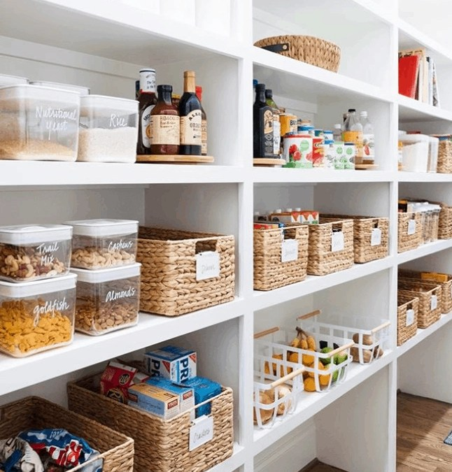 Pantry Organization Ideas: The Only 6 (Cheap!) Items You'll Need