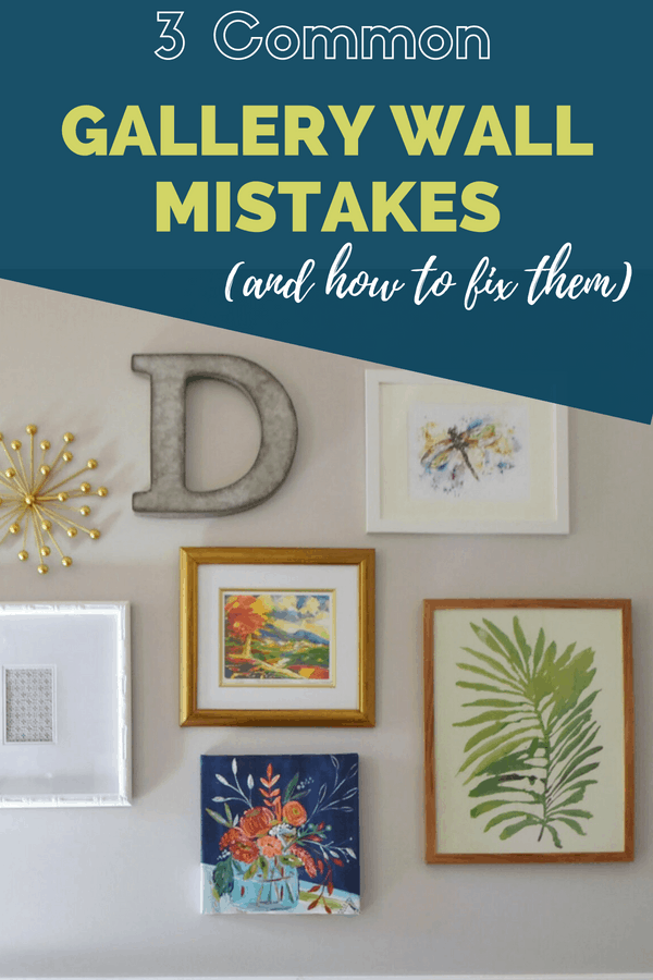 Want to create the perfect gallery wall? These three tips are on point!