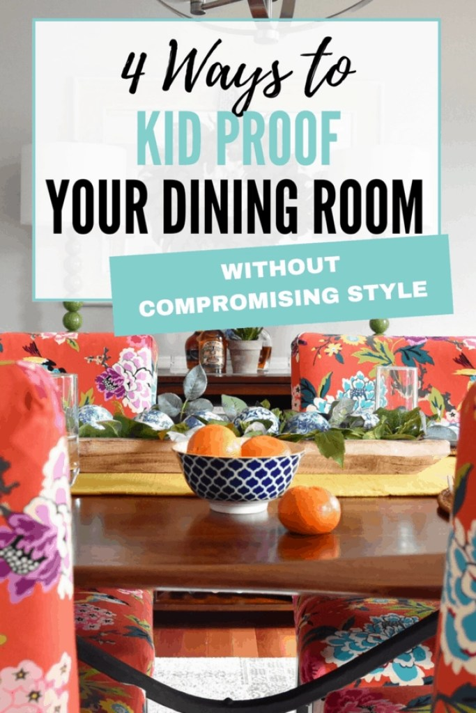 kid friendly dining room decorating tips