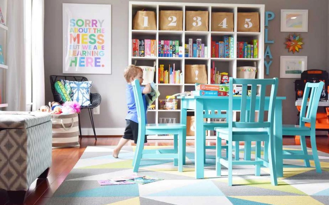 Our Modern, Colorful Playroom: Tips for a Stylish and Functional Play Space