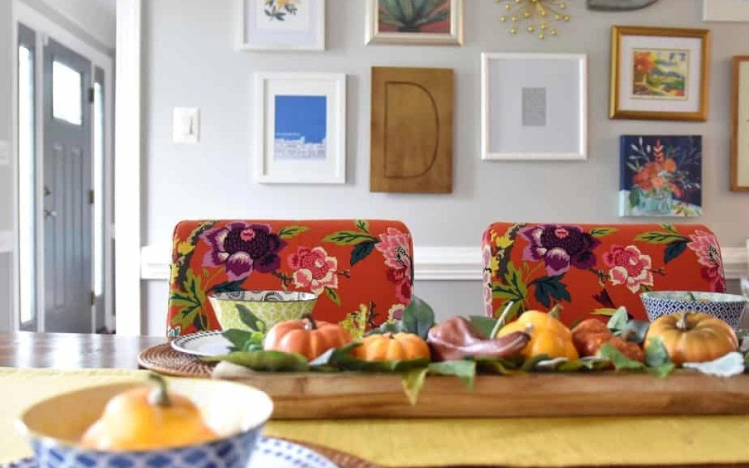 Easy Fall Dining Room Decor: My Seasonal Additions Under $20