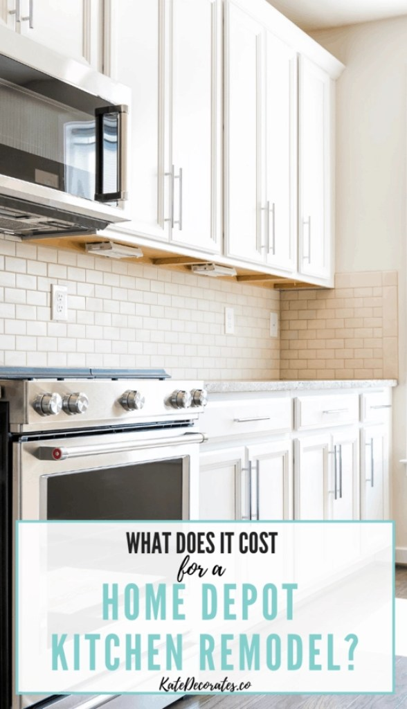 How much does a Home Depot kitchen remodel cost - great tips