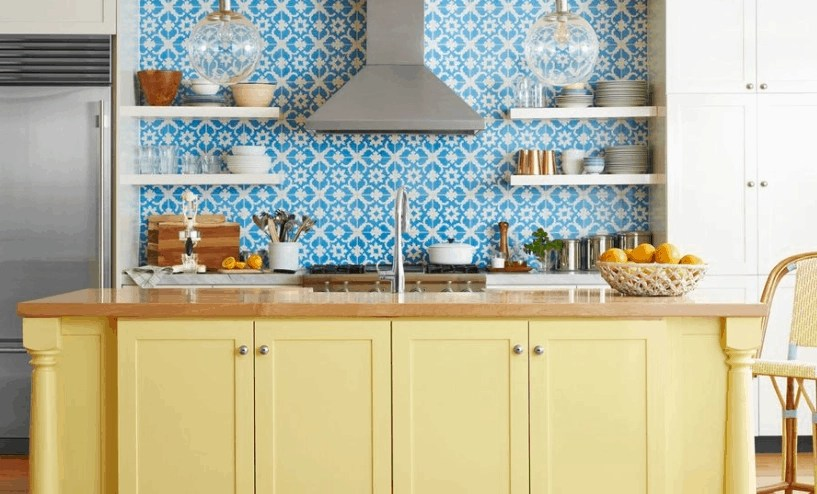15 Colorful Kitchen Ideas That You'll Wanna Copy