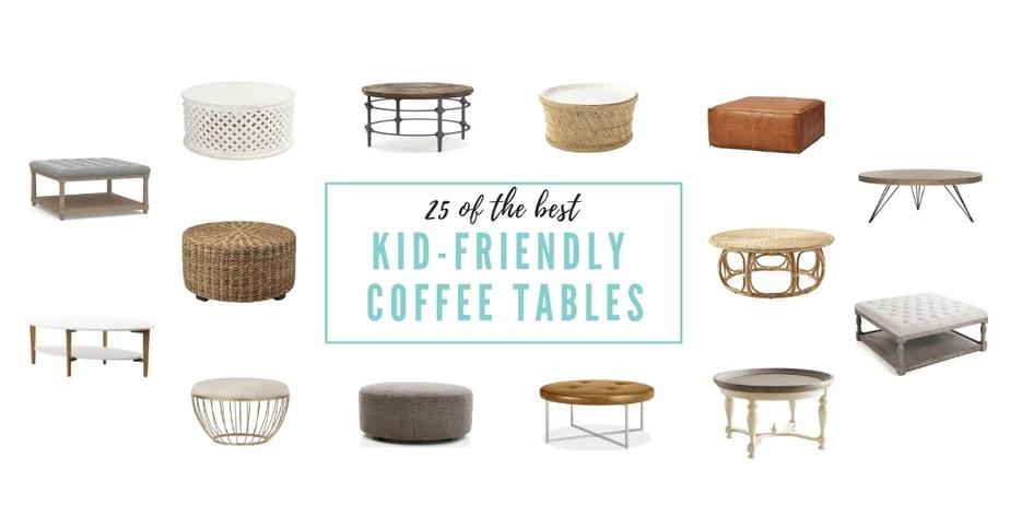 25 kid friendly coffee tables kate