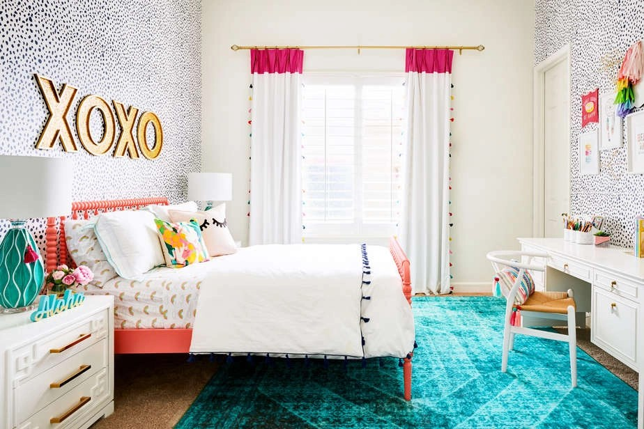 The Best Colorful Tween Girl Bedroom Decorating Ideas ... on Girls Bedroom Ideas  id=60126